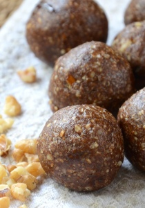 Energy balls. Great for pre and post workout real food!!!